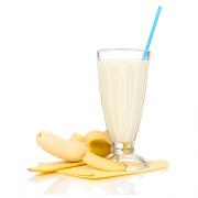 banaan en melk