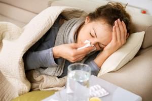 Te weinig slaap verviervoudigd risico op verkoudheid