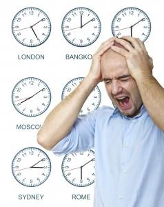 slaapproblemen bij jetlag